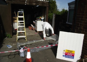 Asbestos removal decontamination